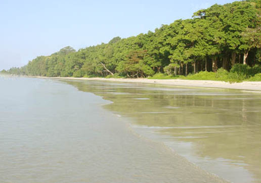 Andaman and Nicobar Islands, sea beach