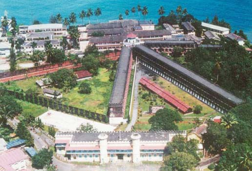Image result for Cellular Jail in Port Blair