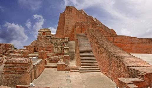 The Ruins of Nalanda University, Bihar