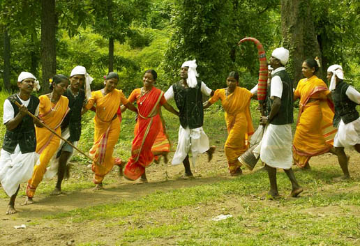 tribal dance silvassa city, dadra and nagar haveli
