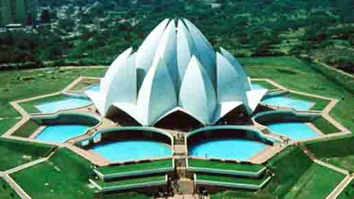Tour spot in delhi lotus temple or bahai house bahai house lotus temple mightylinksfo