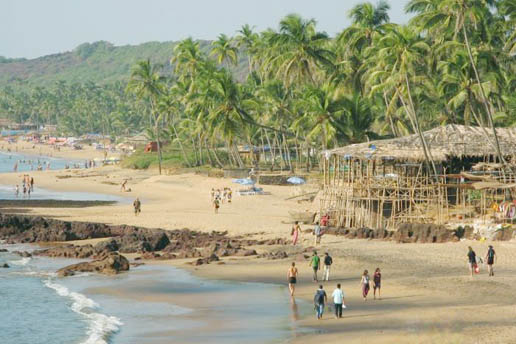 goa anjuna beach