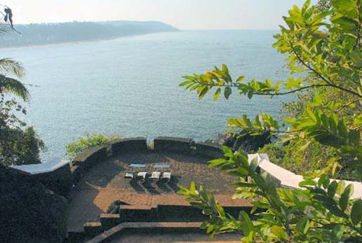 Tiracol Fort, North Goa