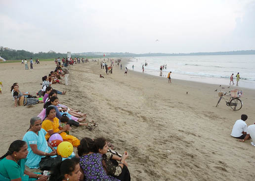 Miramar Sea Beach Panaji North Goa