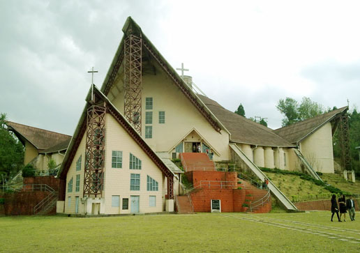 cathidral church kohima, nagaland