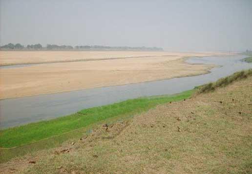 kathajodi river in cuttack, orissa