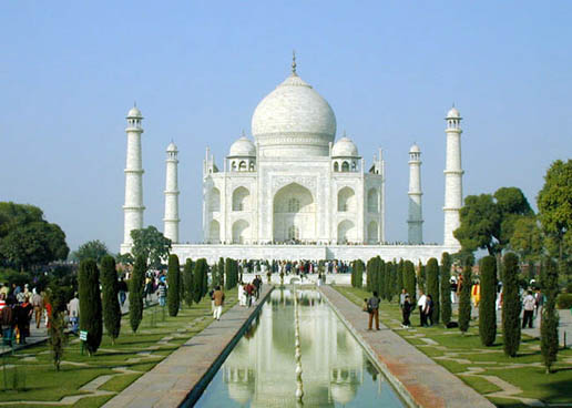 Taj Mahal, great sign of love