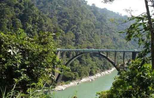 River Bridge at Chalsa
