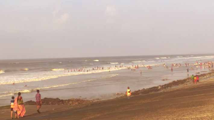 digha sea beach, west bengal
