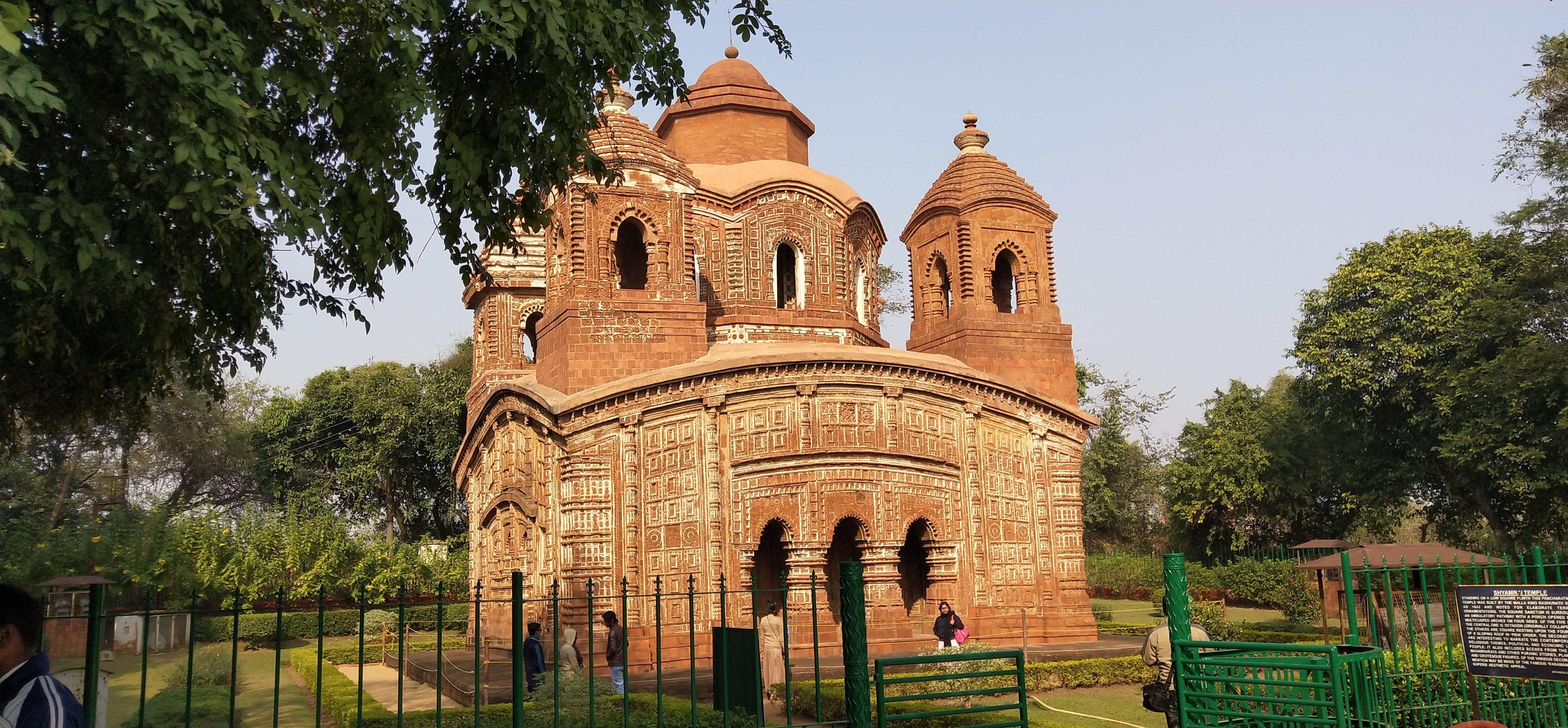 shyamrai panch chura temple bishnupur