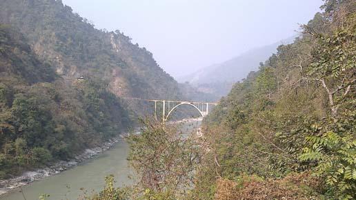 Teesta River at Sevoke