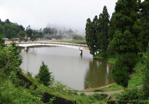 sumendu lake or mirik lake
