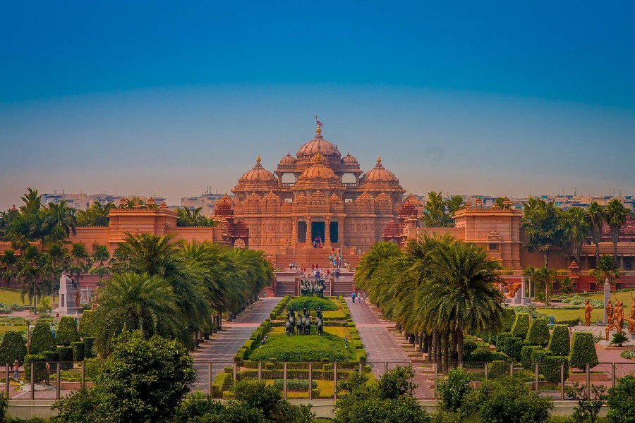 Akshardham Temple in New Delhi